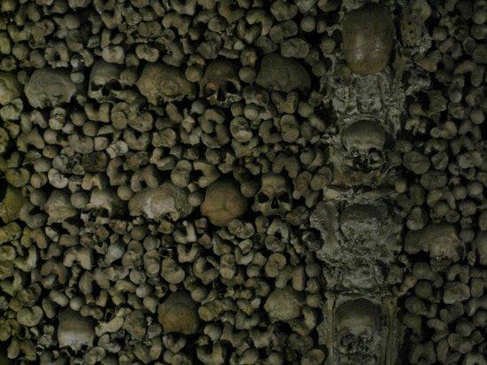 Capela dos Ossos: Ossos e caveiras