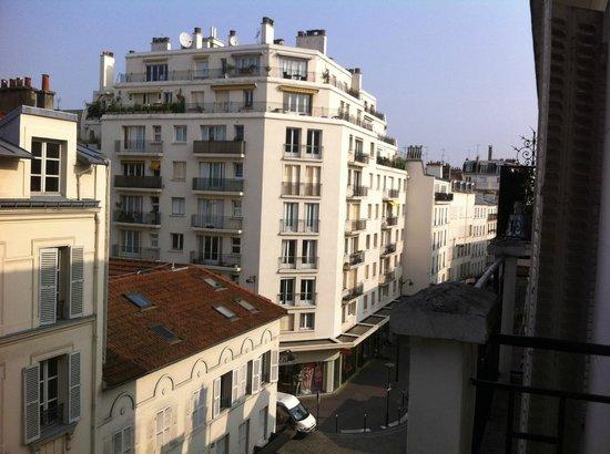 Hotel Printemps : Vista desde el cuarto