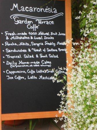 Cafe dos Macarones: Prix et Menu