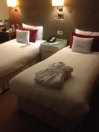 DoubleTree by Hilton Hotel London - West End : Twin Beds