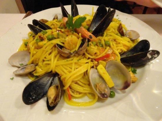 Pizzeria Fornelli: Spaghetti Capri