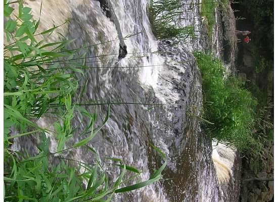 Willow River State Park: Water running so smooth over the rocks.