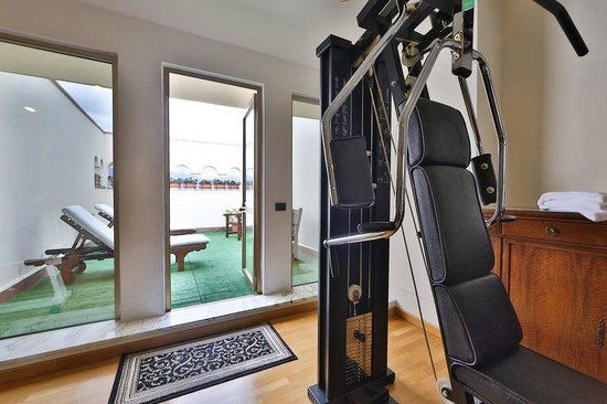 BEST WESTERN Grand Hotel Guinigi: Gym