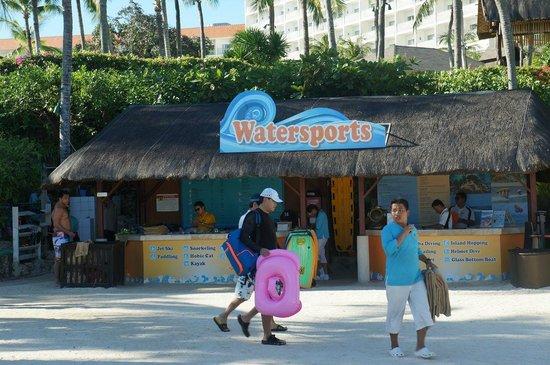 Shangri-La's Mactan Resort & Spa: Центр водных развлечений