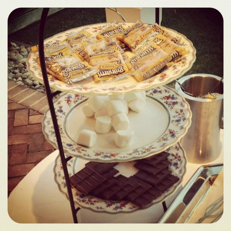 Inn at Perry Cabin by Belmond : SMORES at the Spa