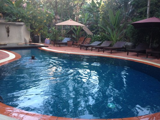 The River Garden Siem Reap: The pool - perfect for lunchtime dips