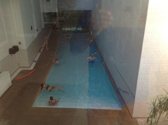 Novotel Santiago Vitacura : piscina termica