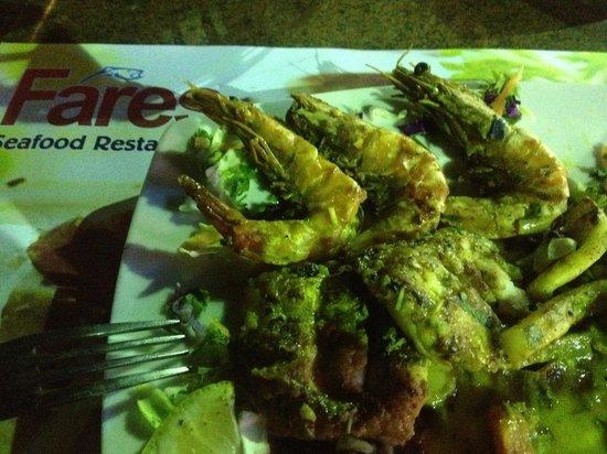 Fares Seafood - IL Mercato : Mixed sea-food platter