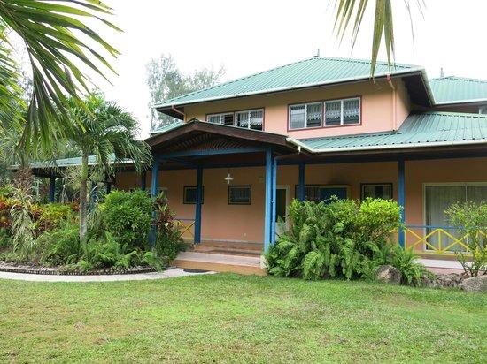 La Diguoise Guesthouse: Vårat hus med ca 6 olika rum