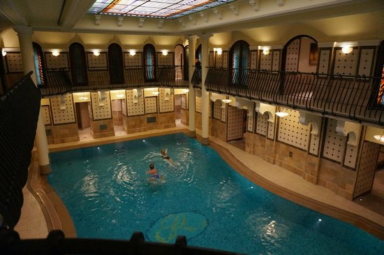 Corinthia Hotel Budapest: Спа