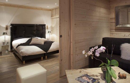 Hotel Les Mélèzes : Junior Suite