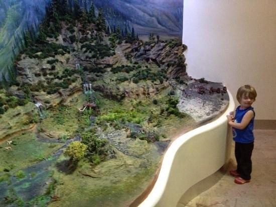 Museo de Antropologia e Historia de Baja California Sur : Model of Baja
