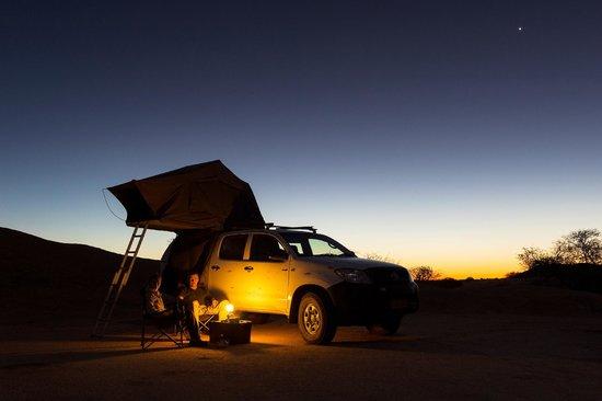 Spitzkoppe Campsites: Relaxing evening