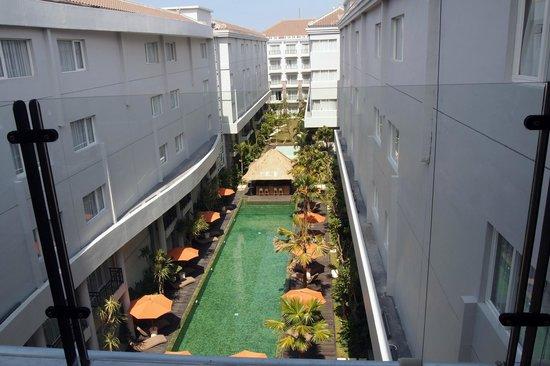 b Hotel Bali & Spa: С вехнего этажа