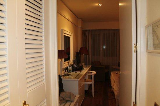 Hotel Granada Center: Desde el vestidor