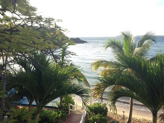 Bolongo Bay Beach Resort: View from room