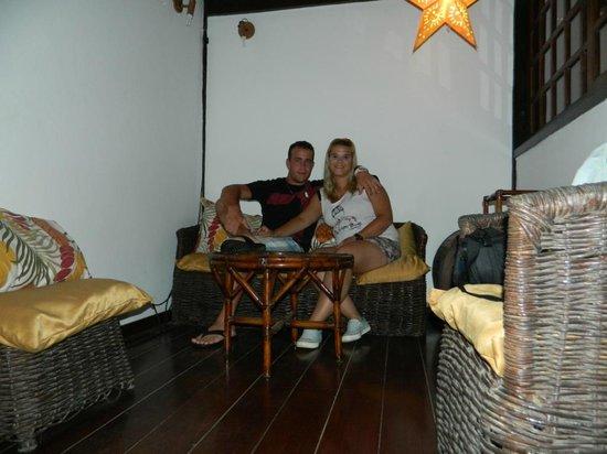 Kybalion Pousada Hotel : sala de estar, 2º piso