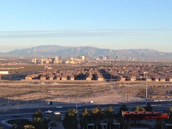 M Resort Spa Casino: This was the day view from my room on the 9th floor.