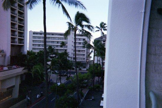 Sheraton Princess Kaiulani : view from balcony