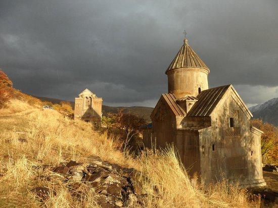 Armenia: Tsakhts Kar monastery