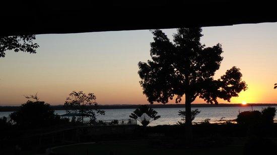 La Casa De Don David: Restaurant sunset view