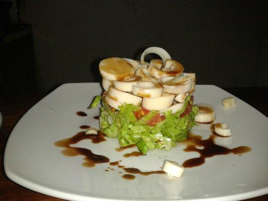 Drakes Kitchen, Casa El Tortugo: Hart of palm salad...!!