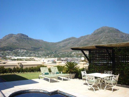 Villa Afrique: vue de la piscine