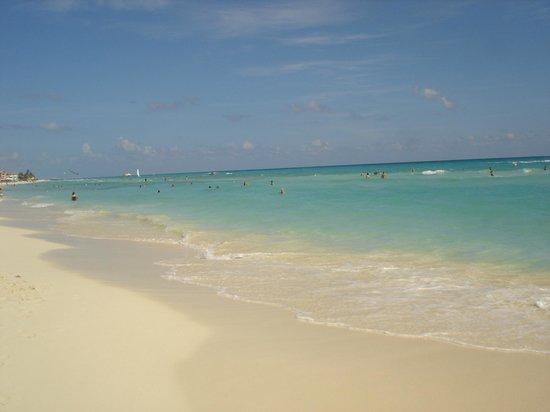 Allegro Playacar: Nice beach