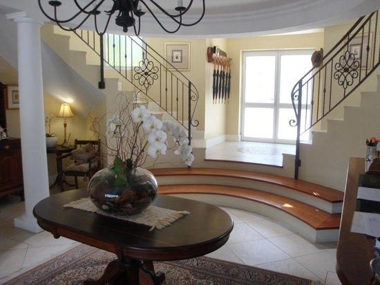 Villa Afrique: hall d'entrée