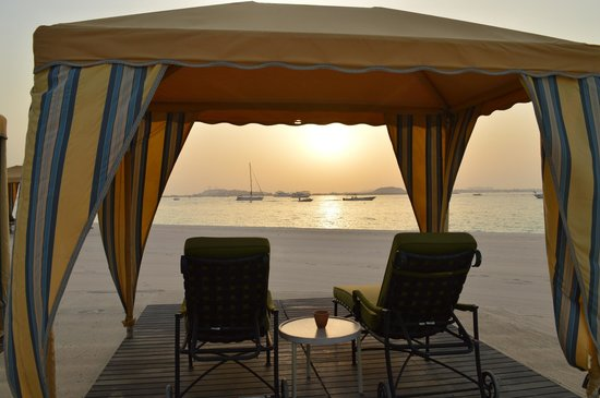 Residence & Spa at One&Only Royal Mirage Dubai: the beach
