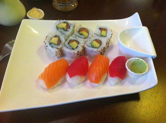 Wasab'Art Sushi: Menu Sushi Roll's x10