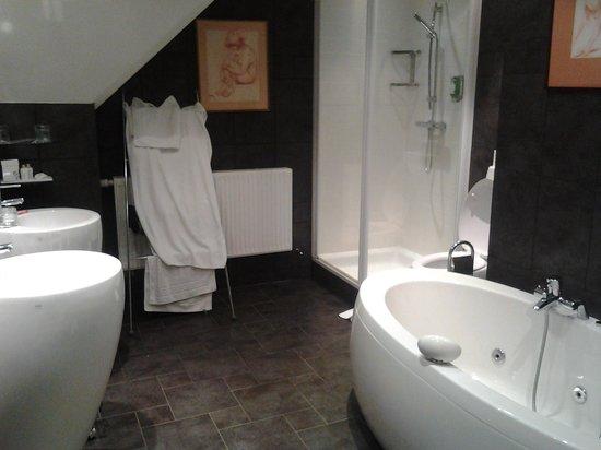 Hostellerie La Cheneaudiere - Relais & Chateaux: sdb