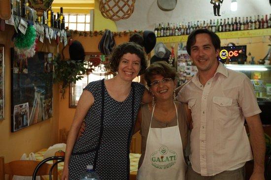 Trattoria Familiare da Michele & Jolanda: with Iolanda
