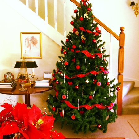 Green Gables Lodge Country House: Christmas tree