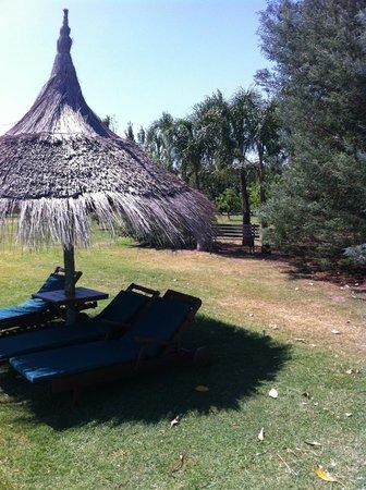 La casa de loslimoneros: vista del quincho