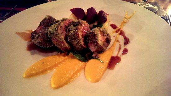 The Halfway Inn: slow roasted belly pork