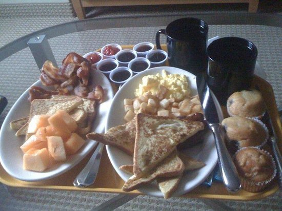 Embassy Suites by Hilton Washington D.C. Georgetown: Breakfast !