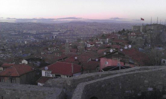 Ankara Castle : View