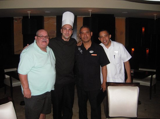 The Reserve at Paradisus Punta Cana: chef extrodinair