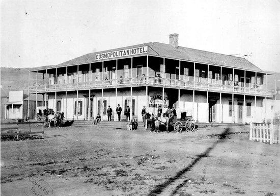 Cosmopolitan Hotel: The Cosmo in 1872