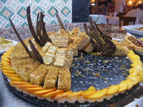 Mahdia Palace Thalasso: Cakes, never ever ate so goodest