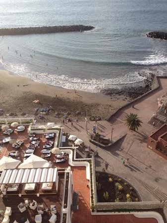 H10 Gran Tinerfe: view from balcony