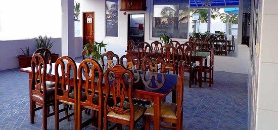 Hostal Insular : Area de la cafeteria