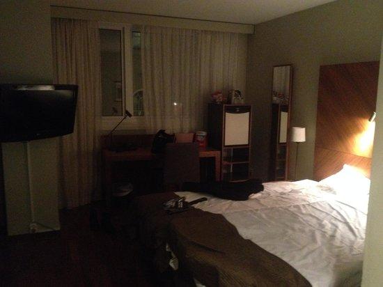 Clarion Hotel Amaranten: Rum före uppgradering