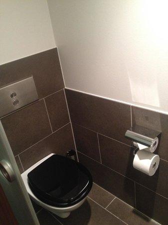 Clarion Hotel Amaranten : Toalett efter uppgradering