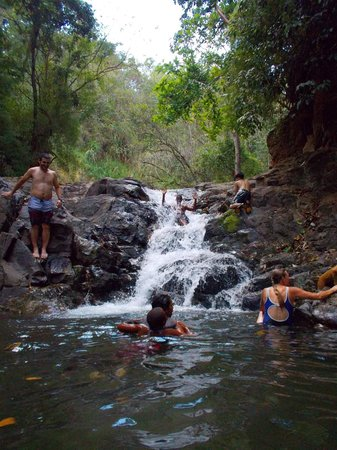 Establo San Rafael B&B: An afternoon walk to the nearby waterfall!