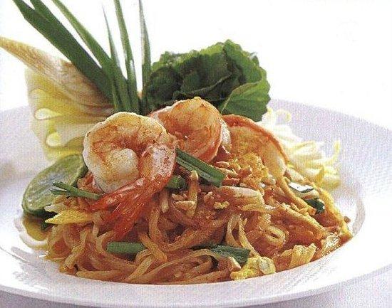 Thai Spice: Pad Thai noodles
