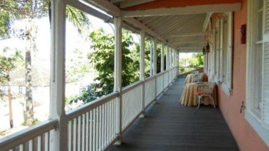 Graycliff Hotel: Veranda