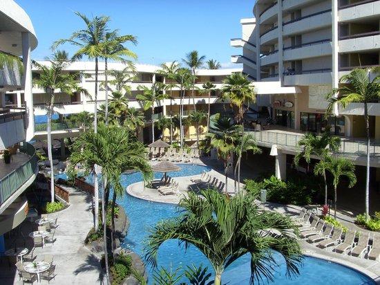 Sheraton Kona Resort & Spa at Keauhou Bay : Poolanlage in der Anlage