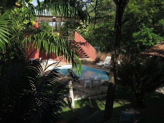 Maloca GuestHouse : Vista da varanda de cima do hostel